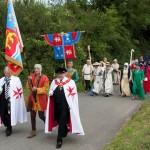 03 procession to Walkern Magna Carta Fair Peter Ravilious 09