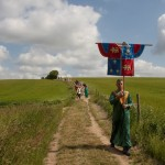 03 procession to Walkern Magna Carta Fair Peter Ravilious 10