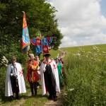 03 procession to Walkern Magna Carta Fair Peter Ravilious 11