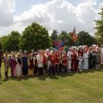 03 procession to Walkern Magna Carta Fair Peter Ravilious 16