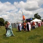 03 procession to Walkern Magna Carta Fair Peter Ravilious 19