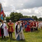 03 procession to Walkern Magna Carta Fair Peter Ravilious 21