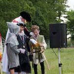 04 Costumes at Walkern Magna Carta Fair Peter Ravilious 05