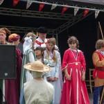 04 Costumes at Walkern Magna Carta Fair Peter Ravilious 07