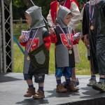04 Costumes at Walkern Magna Carta Fair Peter Ravilious 08