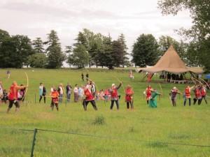 06 Company de Lanvalei at Magna Carta Fair 27 06 2015 Roy Wareham 3