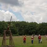 06 Company de Lanvalei at Walkern Magna Carta Fair Peter Ravilious 01