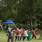 06 Company de Lanvalei at Walkern Magna Carta Fair Peter Ravilious 05