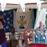 08 Hautbois at Walkern Magna Carta Fair by Peter Ravilious 01