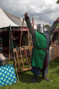 08 conquest at Walkern Magna Carta Fair Peter Ravilious 05