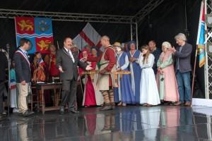 11 Twinning with Lanvally at Walkern Magna Carta Fair 28 06 2015 Peter Ravilious 11