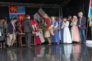 11 Twinning with Lanvally at Walkern Magna Carta Fair 28 06 2015 Peter Ravilious 12