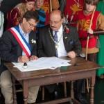 11 Twinning with Lanvally at Walkern Magna Carta Fair 28 06 2015 Peter Ravilious 14