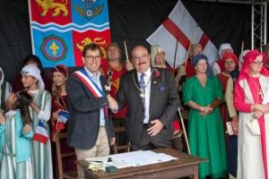 11 Twinning with Lanvally at Walkern Magna Carta Fair 28 06 2015 Peter Ravilious 19
