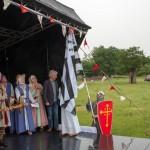 11 Twinning with Lanvally at Walkern Magna Carta Fair 28 06 2015 Peter Ravilious 23
