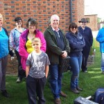 2017 Walkern dovehouse test pit group 2