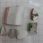 Finds from Dovehouse test pit 09
