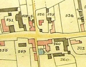 Plot 526 tithe map