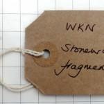 WKN 19 1-1 stoneware