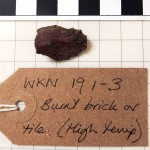WKN 19 1-3 burnt brick