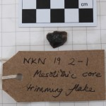 WKN 19-2-1 finds 04 mesolithic core trimming flake