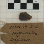 WKN 19-2-2 finds 08 Herts Greyware