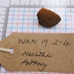 WKN 19-2-4 finds 16 Neolithic pottery