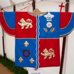 10 Ceremonial tabard at Walkern Magna Carta Fair by Peter Ravilious 01