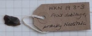WKN 19-3-3 finds Gallery 11a Neo flint